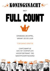 Full Count Koningsnacht 2016